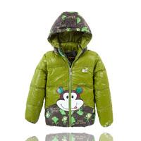 Children's clothes for boys children warm down jacket  baby outerwear 2014 new winter coats for children