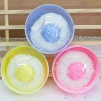 Hot Sale Baby Beauty Multicolor Cosmetic Villus Powder Puff Sponge Case Makeup Tool  03LB