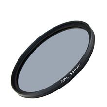 Camera Photo 55mm CPL polarizing filter 55 mm UV filters kit for dslr canon sony nikon