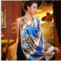 Fashion Woman 100% Silk Scarf Girl's Shawl Wrap Stole Lady Neckerchief S05054