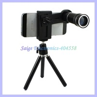 Universal 10X Zoom Telephoto Lens For Mobile Phone Telescope Lens With Holder and Tripod