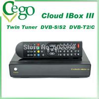 1pcs cloud ibox 3 satellite receiver with DVB S/S2/DVB T2/C IPTV OpenPLi/ OpenATV /ViX Cloud Ibox Team Linux Operating Fedex