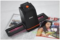 Free Shipping!1800dpi 5 Mega Pixel Film/Slide Scanner Easy one-button scanning fast speed < 1s