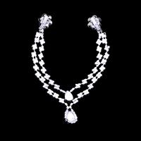 Free Shipping Multi-layer Tiara,Fashion Rhinestone Hairband, Silver Plated Jewelry, Prinecess Forehead Hair Accessories, NL-114