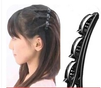 Min Order $15(mixed order)  Hair Tools   Double bangs style folder    2056