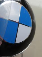200pcs Standard 82mm / 74mm black . blue / white  bonnet / boot badge front / rear emblem car E30 E36 E46 3 5 7 Series