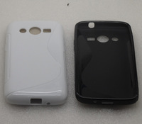 2X Soft S-Line TPU Gel Case for  Samsung Galaxy Core LTE SM-G386F