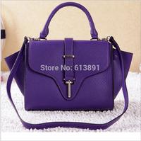 The new 2014 fashion leisure leather handbag free shipping