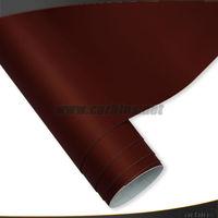 1.52*20m High quality Brown Matte Chrome Car Wrap Vinyl Film Factory price