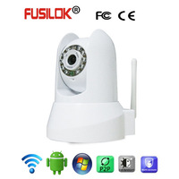 Made in China Low Price 480P IR Indoor Fusilok Wifi IP Camera Baby Monitor