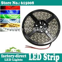 100m 5050 smd led strip light single color waterproof 300leds/ reel 5m/reel flexible