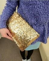 2014 NEW ARRIVAL Free Shipping Fashion Women Handbag Messenger Bag Bling Bling Bag Clutch Bag Casual Bag