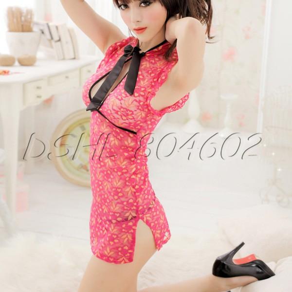 Сексуальная ночная сорочка Cheongsam сексуальная ночная сорочка