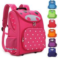 TOP Quality Children School Bag Orthopedic Backpack for Boys Girls Stars Kids Cartoon Mochila Infantil Kindergarten Primary 1-6