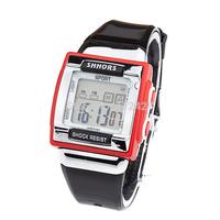 Fashion  2014 New Arrival Quartz Digital Women Sports Watch Ladies Dress Watches bracelet Silicon/Rubber band watches Dial SP015