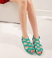 fashion women PVC flat shoes