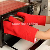 Germany Brand Silicone Oven Gloves Mitt Cooking Tools Grill Churrasco BBQ Microwave Random Color 1 Piece + Free Shipping