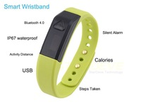 Vidonn X5 Bluetooth 4.0 IP67 Smart Wristband Sports Sleep Tracking Health Fitness for iPhone 5S 5C for Samsung S4 Free shipping
