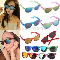 Fashion New Goggles Unisex Sport Outdoor Classic Wayfarer Eyeglasses Women's Retro Mirror Lens Sunglasses 5 Colors