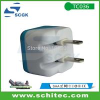 US standard plug foldable output 5v 1a usb mobile phone travel charger