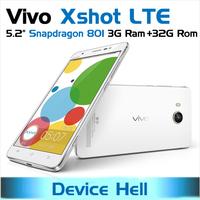 original vivo xshot X710L 4G LTE phone snapdragon 801 8974AC 3GB ram 32GB rom support FDD LTE 2014 new EMS / DHL free shipping