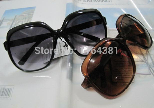 10pc/lot + 2014 new arrival double C women's sunglasses + channeles sunglasses big bowknot glass sunglasses women brand designer(China (Mainland))