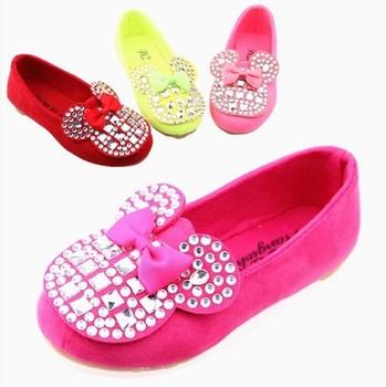 2014 бесплатная доставка новое поступление обувь для детей девочка принцесса анти-слип детская обувь удобные замшевые кроссовки девушки ботинки весна