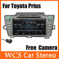 Car Head Unit For Toyota Prius 2009-2013,2din support iphone 5 5s 5c car dvd player styling,radio audio stereo+Free Camera 002