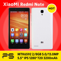 "5.5"" Oiginal Xiaomi Hongmi Note + Screen Protector + Plug Adapter if necessary + Multilang-ROM Updating Service"