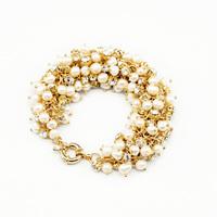 New Styles 2014 Fashion Jewelry Handed Beaded Pearl Charm Bracelet
