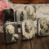 Marilyn Monroe tin box jewelry box nostalgic receives six