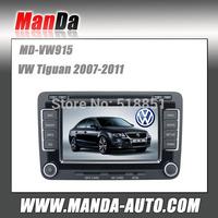 New In Dash Car Radio GPS Navigation DVD CD MP3 Player Ipod For VW Tuguan
