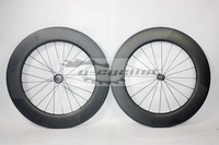 free shipping carbon road bike Dimple wheels clincher carbon wheels 88mm dimple rim wheels oem carbon wheelset no logo
