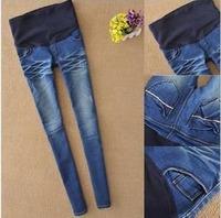 New Maternity Jeans Plus Size Elastic High waist Pants Leggings Jeggings for Pregnant Women Fashion Cheap Clothing S-XXL #7011