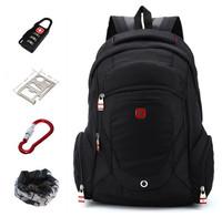 New 2014 zipper backpacks imitation Swiss Army backpack shoulder computer backpack men luggage travel bags