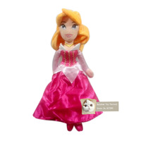 Free shipping Aurora plush toy Fairy Princess Briar Rose plush toy Sleeping Beauty doll toy for girl doll toy gift