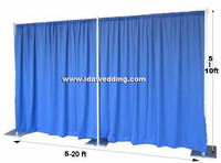 Portable Pipe and drape background stent wedding decor and wendding props width 6m*height 3m