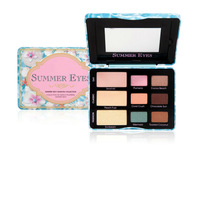 1PCS high quality New Summer eyes 9 Colors Sexy Eyeshadow Collection Eye Shadow Palette Makeup Free shipping