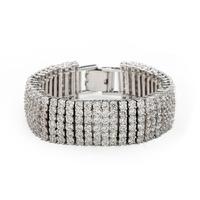 Liberty  AAA zircon bracelet  2014  classic stripe elegant luxury crystal bracelets for women