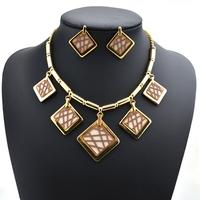 ST-50024 Fashion wedding bridal jewelry sets crystal choker necklace  Free shipping