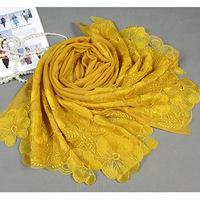 cut flower wool women scarf high quality 5 colors100% wool  winter scarf  women shawl