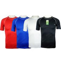 Silky breathable short-sleeve basketball football straitest sports underwear sports tights soccer jersey