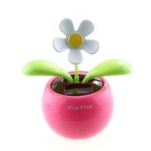 wholesale solar flip flap flower
