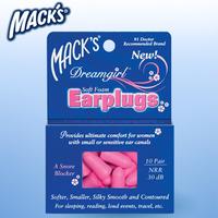 ( 5 pairs / lot ) Macks women's earplugs anti-noise foam earplugs professional sleeping earplugs