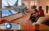 4000 Lumens 1080P Android 4.2 Wifi Projector Home theater System With HDMI High Contrast LED Projector