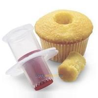 LS4G New Cupcake Corer Plunger Cutter Pastry Cake Decorating Divider Filler Mode