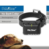 1Set 850 Dog Collar Rechargeable and Waterproof Anti Bark Collar with Static and Vibration + Retail Box + Free shipping