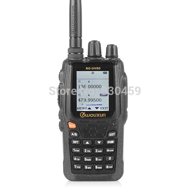 Wouxun KG-UV8D Two-Way Radio, 136-174/420-520MHz Dual Band Transceiver 999 Memory Channels(China (Mainland))