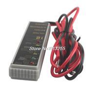 12V Car LCD battery test tester indicator 6 leds level,alternator voltage checker analyzer with magnetic,Automobiles Diagnostic