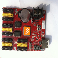 hot sales p10 led display running text  controller card HD-U40